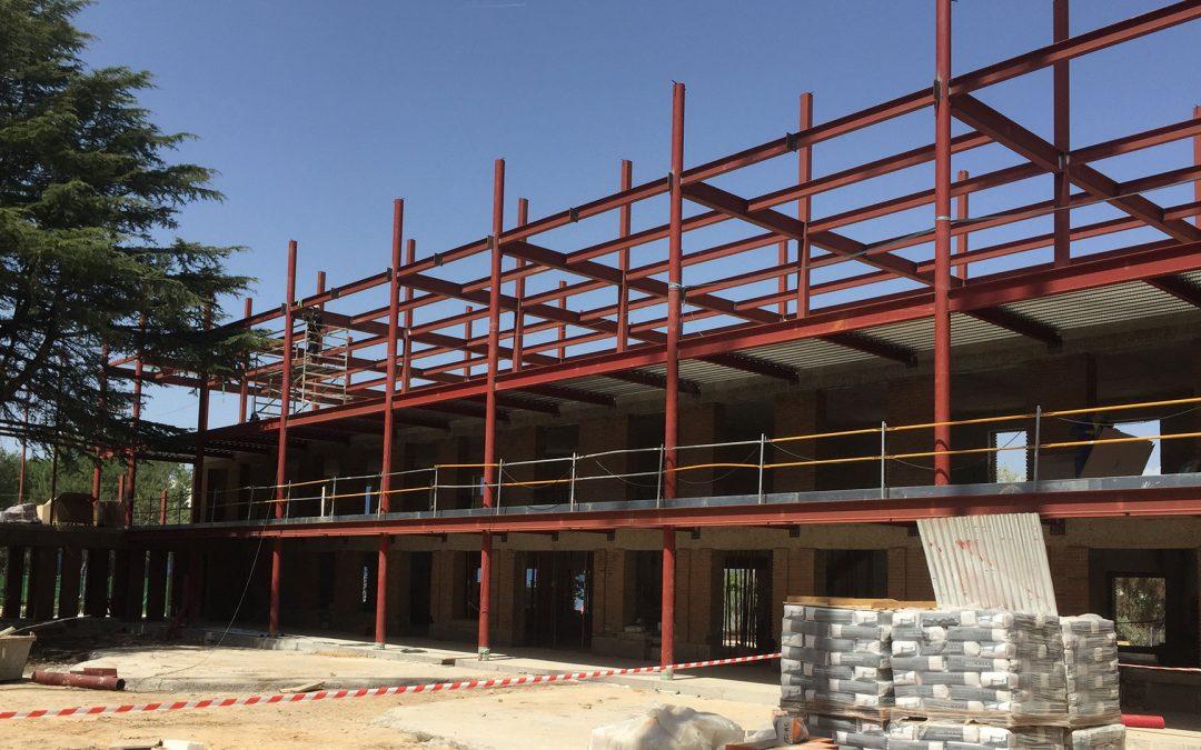 Estructura metálica. Convento Las Jerónimas