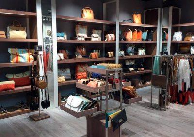 Refoma en tienda PARFOIS Madrid. PROGREDI