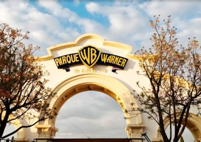 parque warner madrid. progredi construcciones